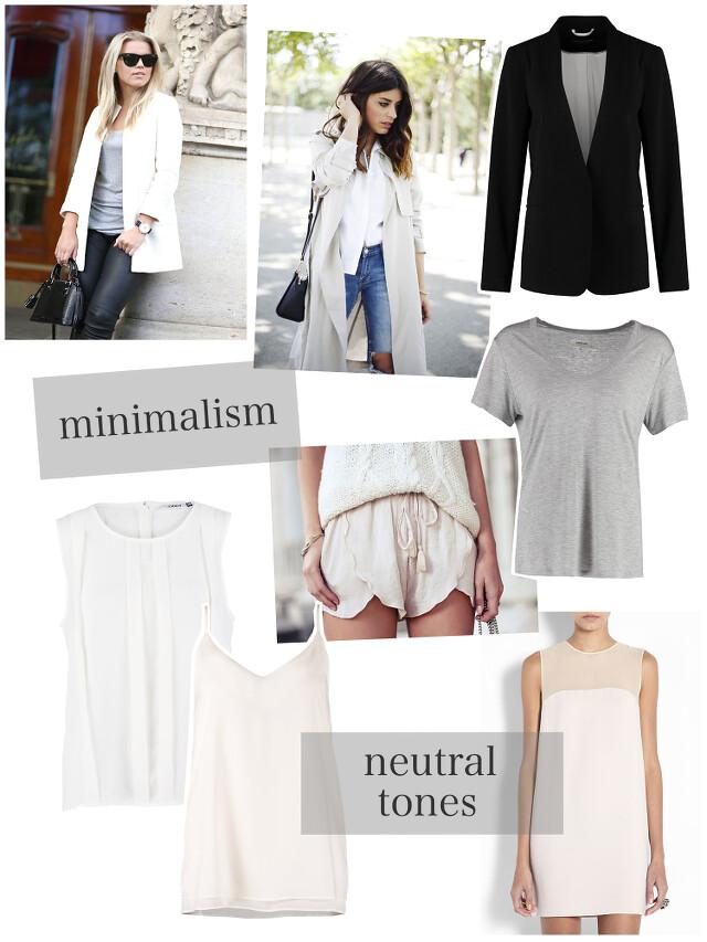 minimalism&neutrals