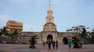 Image of  Torre Del Reloj. bolívar colombie cartagenadeindiasdistritoturísticoycultural cartagenadeindiasdistritotu