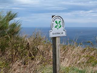 Ravenscar (Costa de Yorkshire, Inglaterra)