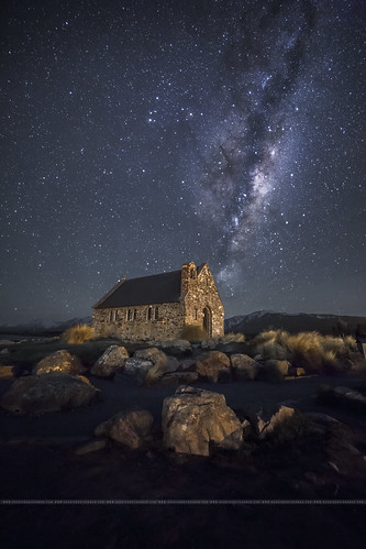newzealand star canterbury explore nz getty laketekapo churchofthegoodshepherd milky tekapo stargazing milkyway