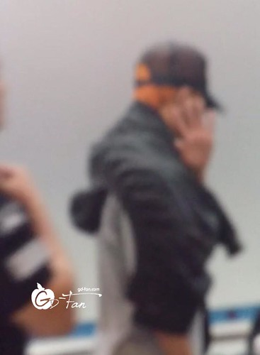 Big Bang - Incheon Airport - 25aug2015 - GD Fan - 01