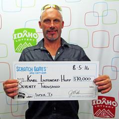 Karl Lutonsky-Hupp - $70,000 Super 7's