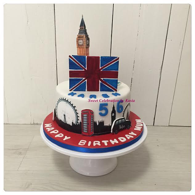 Cake by Kasia Ryszka of Sweet Celebration