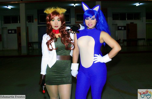 Cosplayers Peruanas