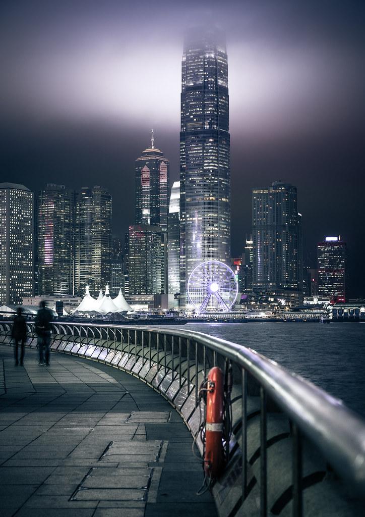 Hong Kong - Central Promenade - 香港
