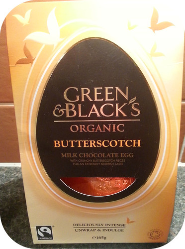 Green & Black's Butterscotch Easter Egg
