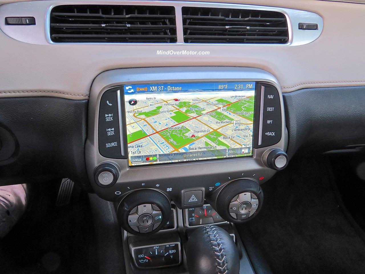 2015 Chevrolet Camaro Convertible MyLink