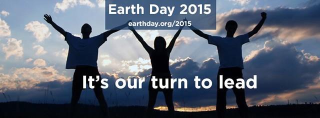 2015地球日(圖片來源:Earth Day Network)