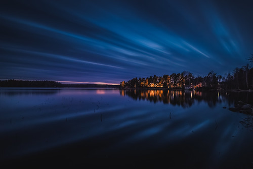 longexposure blue sunset night clouds lights evening nikon le nikkor jyrki d600 1635mm salmi ruonala