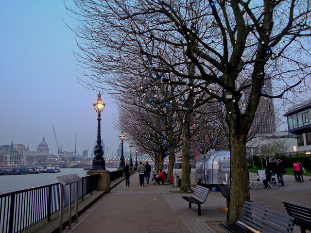 The south bank