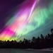 Colorful night by Mikko Lönnberg