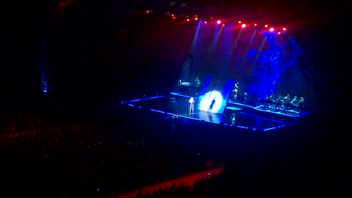 Michael Bublé performing Feeling Good @ Cape Town Stadium, March 2015