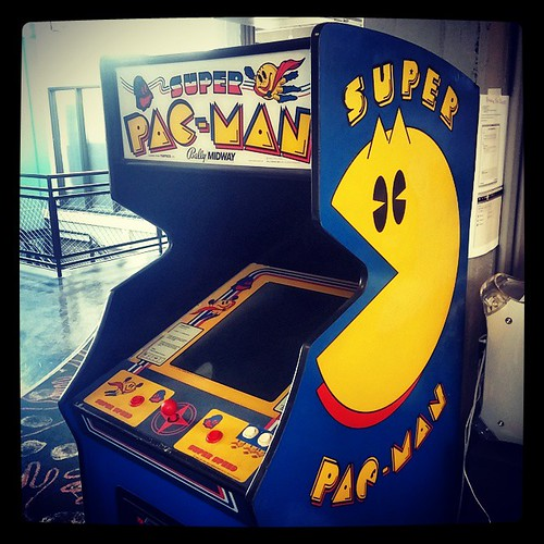 A Super Pac-Man kind of afternoon would be, well... Super!
