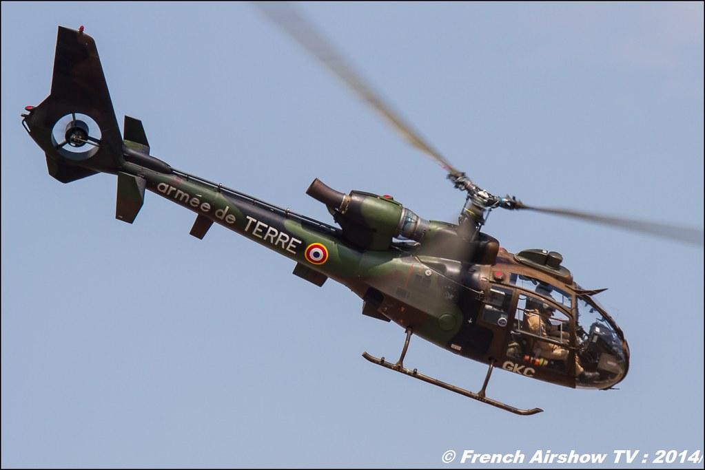 Gazelle, hélicoptère,Sud-Aviation Meeting des 60 ans de l'ALAT 2014 ,Cannet des Maures