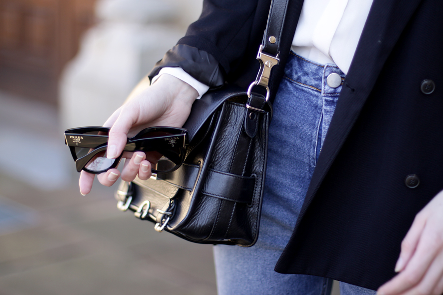 fashion fashionblogger outfit jeans blazer simple business look asos zara topshop proenza schouler brunette bangs ricarda schernus blog blogger germany 8