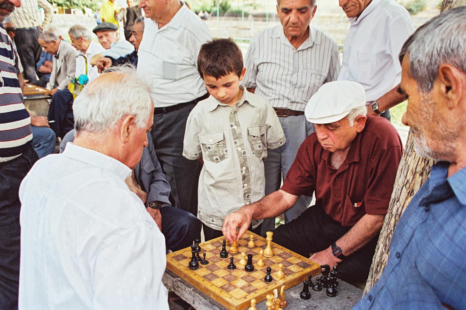 Tomber sous le charme de l'Arménie - Les joueurs d'échec
