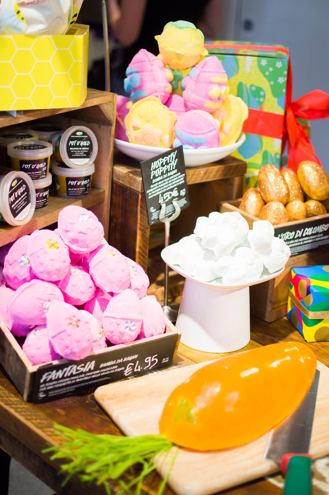 Easter at Lush