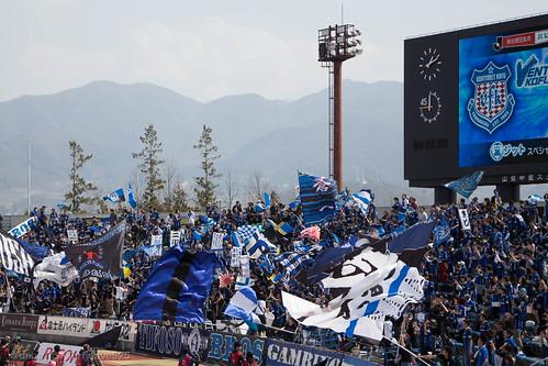 20150322 山梨中銀スタジアム / Yamanashi Chuo Bank Stadium
