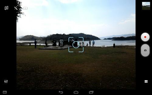 User Interface กล้องของ Lenovo Yoga Tablet 2 10.1
