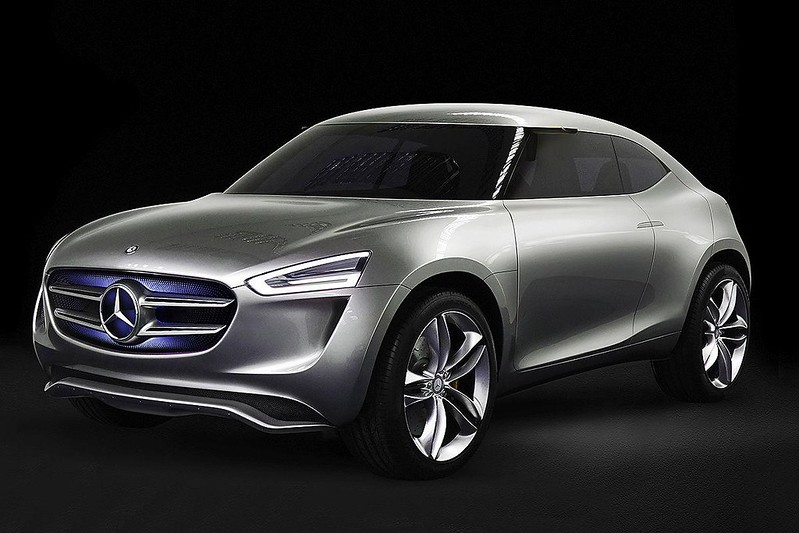 Новый кроссовер Mercedes-Benz G-Code