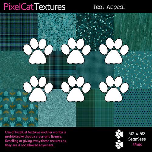 PixelCat Textures - Teal Appeal