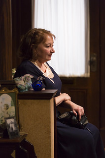Adrianne Krstansky in the Huntington Theatre Company's production of William Inge's COME BACK, LITTLE SHEBA, directed by David Cromer, playing March 27 – April 26, 2015, South End / Calderwood Pavilion at the BCA. Photo: T. Charles Erickson.
