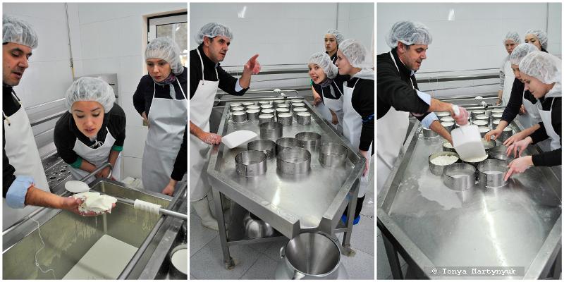 23 - Невероятные приключения москвичек в Каштелу Бранку - quinta - мастер-класс по приготовлению сыра (традиционного португальского)