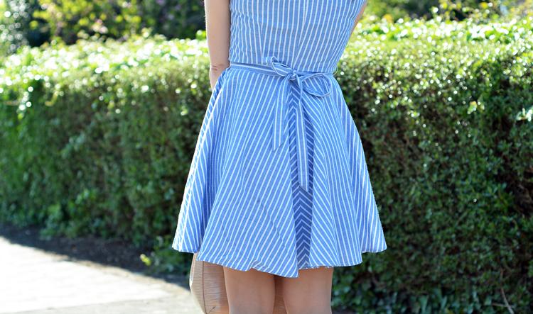 Zara_abaday_como_combinar_ootd_outfit_vestido_rayas_nude_07