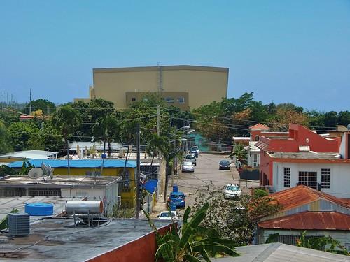 city houses square puerto town hall rico valley diaz juana