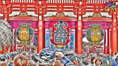 Spring in Tokyo=9=Asakusa Kannon Temple, Tokyo