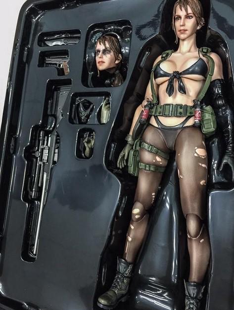 Action figure de Metal Gear Solid V virá com partes macias e maleáveis