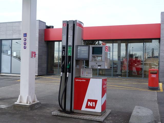Gasolinera islandesa