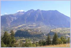 vue Mont-Dauphin depuis Barbeinq