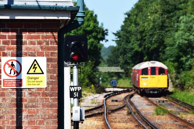 Danger ... old trains ahead