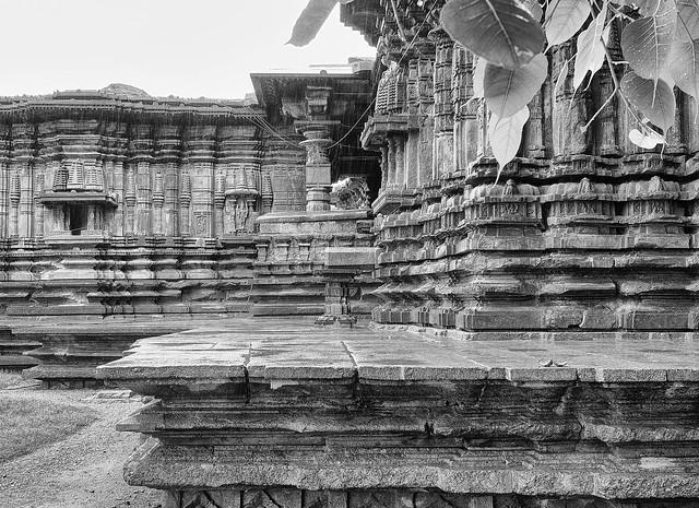 1000 pillars temple. warangal