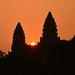Amanecer en Angkor Wat - Camboya