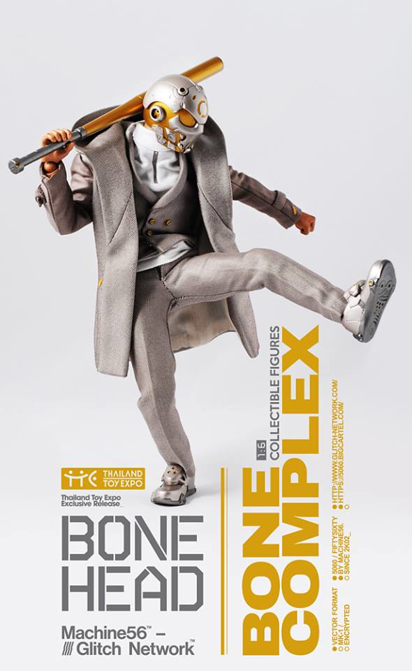 Machine56 × God Complex【Bonehead: Bone Complex】1/6 比例人偶作品