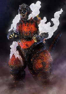 S.H.MonsterArts 哥吉拉(1995)『終極燃燒版』!! ゴジラ(1995) Ultimate Burning Ver.