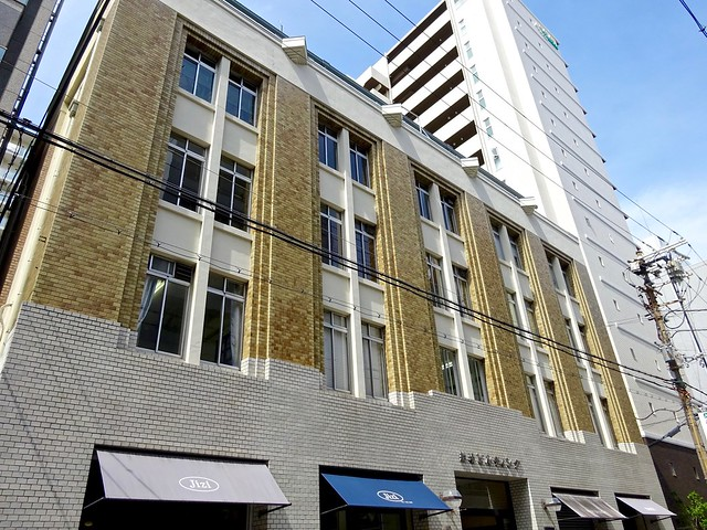 船場ビルディング - Senba Building, Sony DSC-WX350, Sony 25-500mm F3.5-6.5