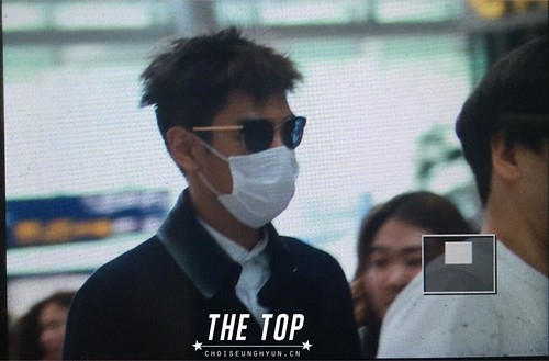 Big Bang - Incheon Airport - 29may2015 - TOP - The TOP - 03