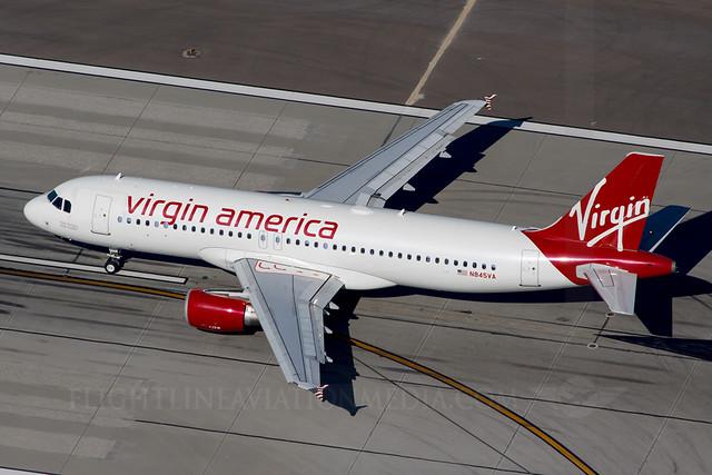 Virgin America Airbus A320-214 N845VA