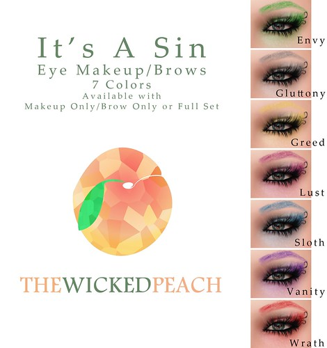 Wicked Peach _ Cosmetic Ad It's A Sin