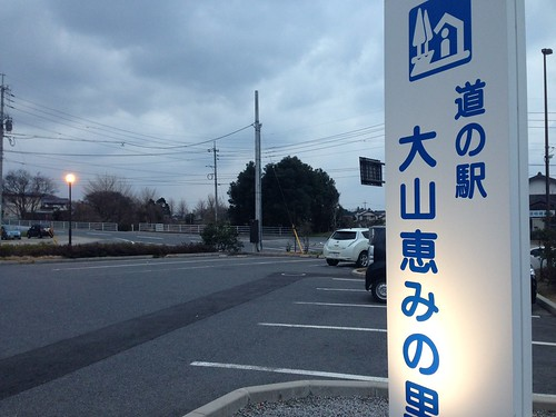 道の駅 大山恵みの里 電気自動車用急速充電器があります。