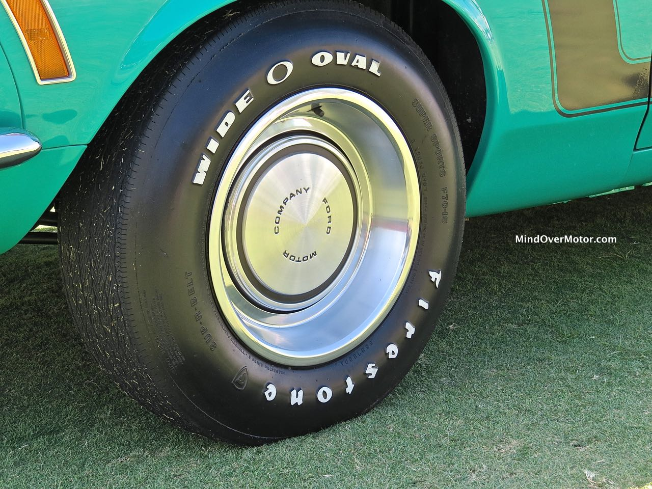 1970 Ford Mustang Boss 302 Wheel