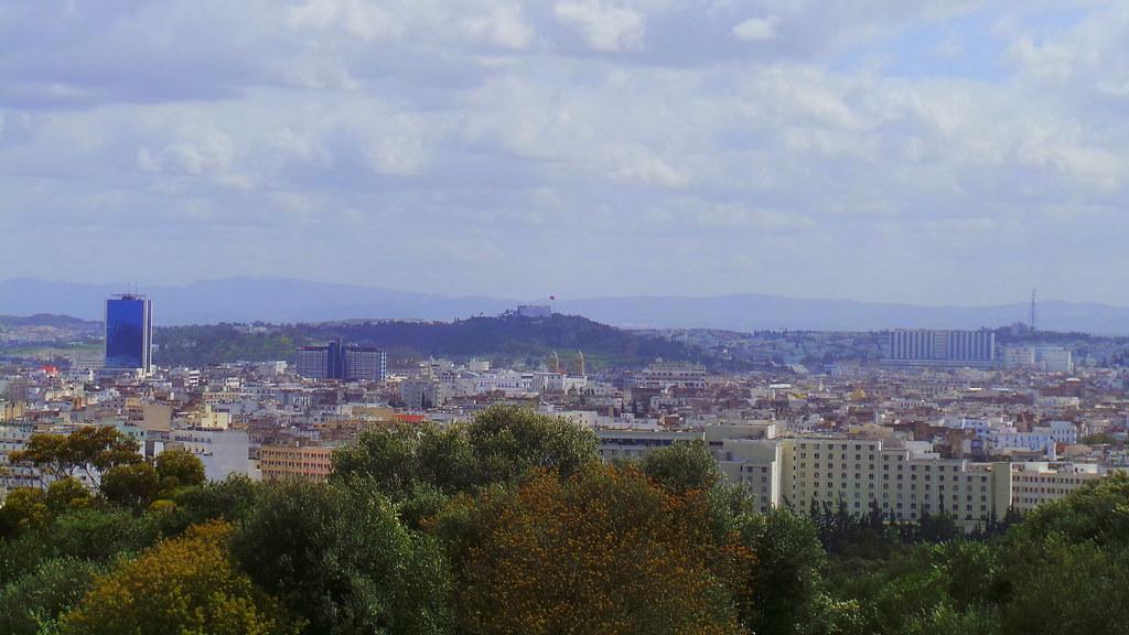 Tunis vue du Parc du Belvédère