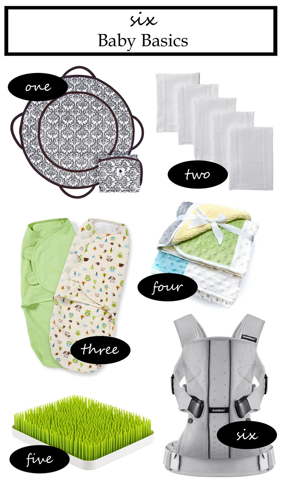 Six Baby Basics | shirley shirley bo birley Blog