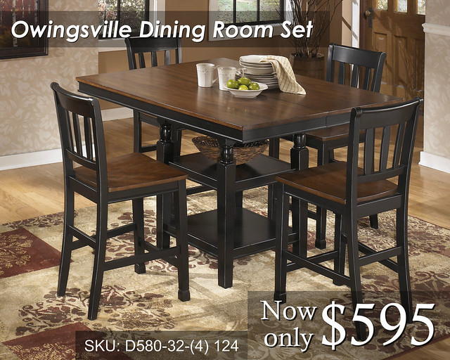 owingsville guys See full product information for dining room dining room sets owingsville d580 7 pc dining set at theliquidationguyscom.