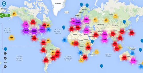 Global Startup Ecosystem map - Startups, Coworking, Accelerators 2015-04-30 18-12-38