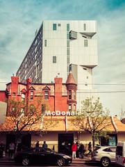 urban contrast...