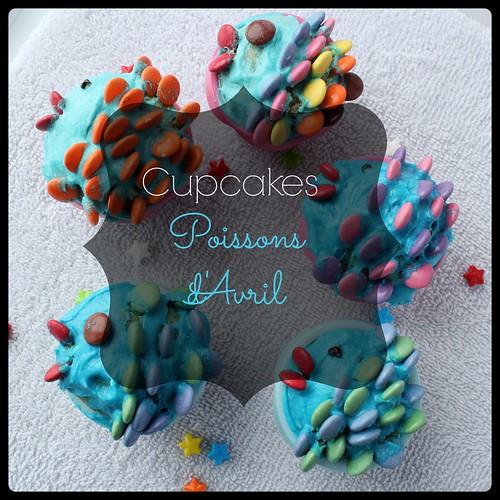 Recette cupcakes poisson d'avril - titre